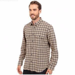 new filson vintage flannel work shirt 10689